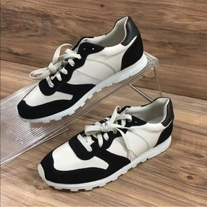 COACH Moonlight Sneakers Shoes Leather Suede New